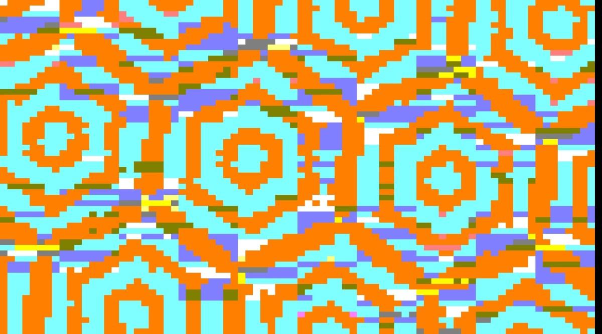Non Precious Kalidoscope glitch art
