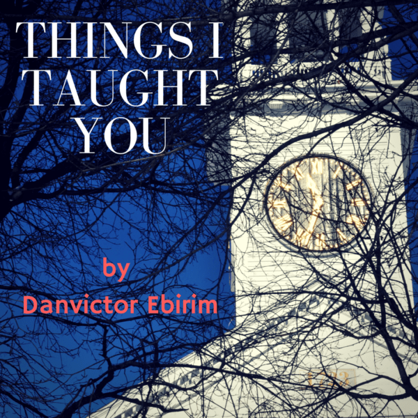 Things I Taught You