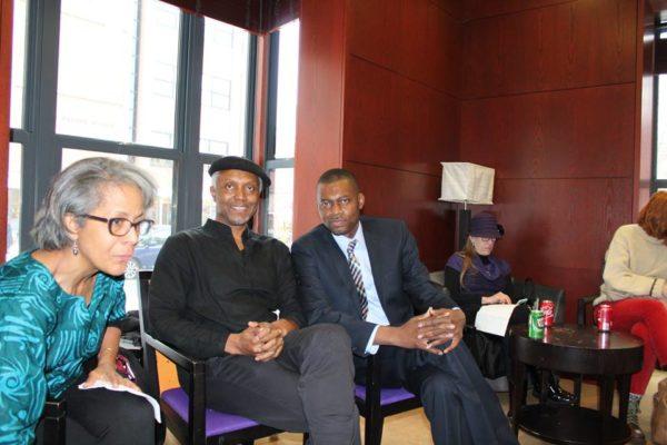 Sheri Ndibe, Okey Ndibe, and Okonkwo