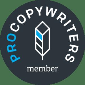 copywriters member badge