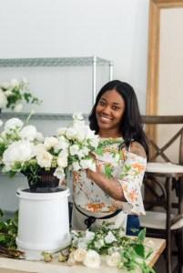 Loose Organic Romantic Floral Design