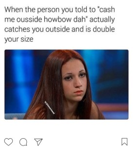 who is the cash me outside how bow dah girl in the meme s brittwd