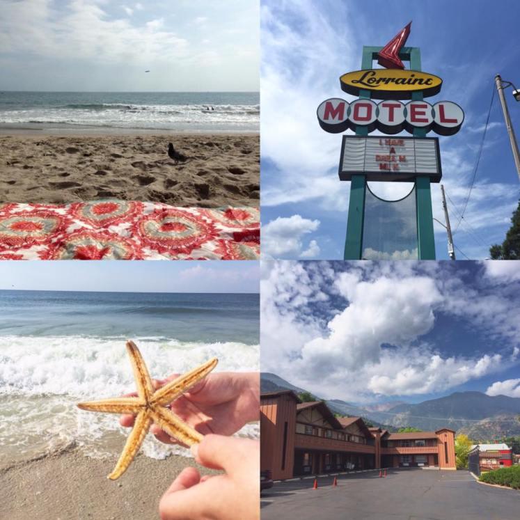 A compilation of some of my favorite travel photos including Santa Monica Beach, Memphis, Gulf Shores, and Colorado Springs.