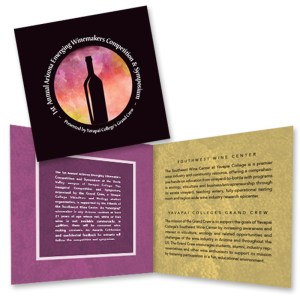 Arizona Emerging Winemakers Competition Event Program Brochure