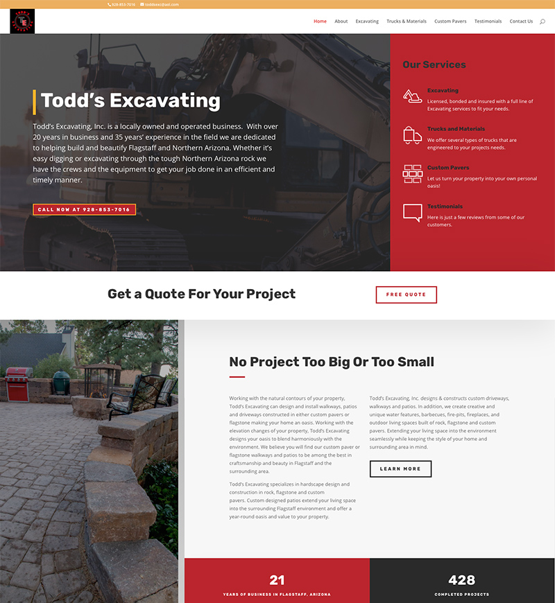 Brixen Creative Website Design