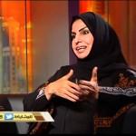 """لقاء الأديبة """"سعدية المفرح"""" في برنامج حديث الإعلام على قناة العدالة"""