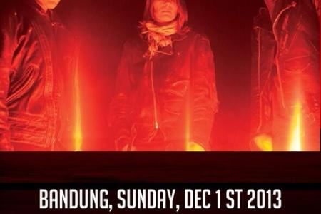 BRMC to play The Venue in Bandung, Indonesia...