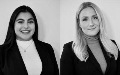 BRM välkomnar Zyanya Romlin och Isabelle Hasselblad