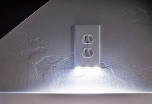 Snap Power Receptacle w night light