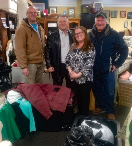 BRNSC Mid-Winter Coat Drive for Angels of LI in Patchogue