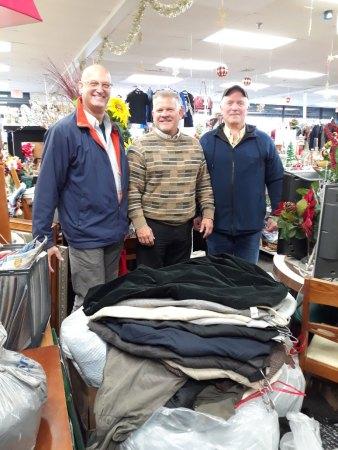 BRNSC 2019 winter clothing donations at Angels of LI