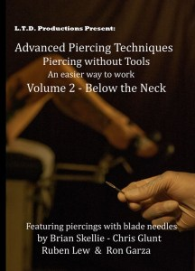 RON GARZA DVD 2 Advanced piercing techniques