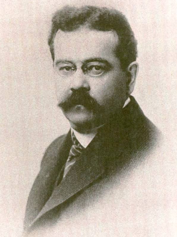 portrait of Charles Fort in 1920