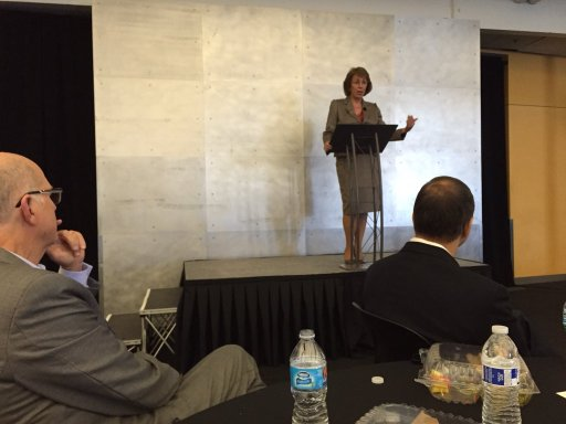 Sunne McPeak, CEO of the California Emerging Technology Fund, speaks of the importance of public-private partnership to broadband.