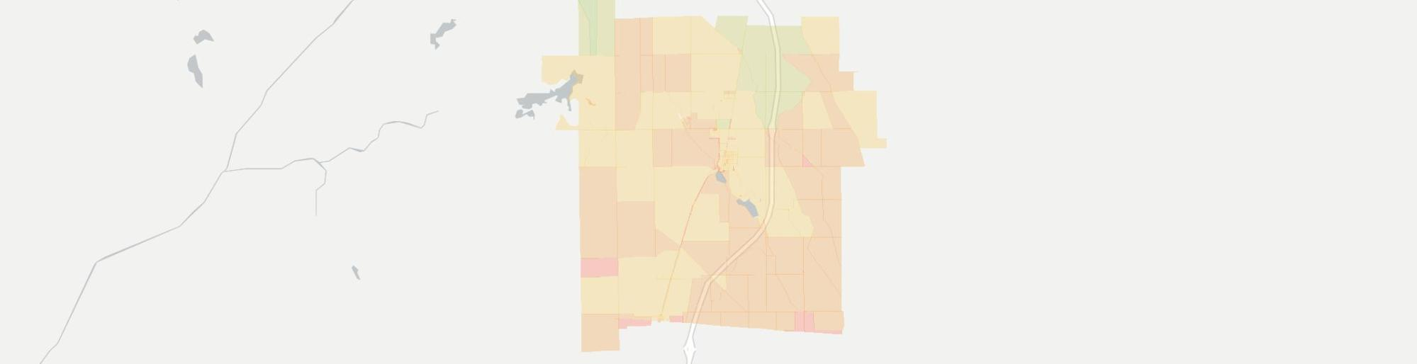hight resolution of internet provider competition map for lakeville