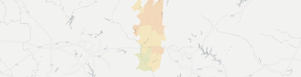 medium resolution of internet provider competition map for mebane
