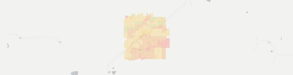 medium resolution of bluffton internet competition map click for interactive map