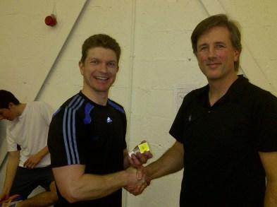 Handicap Tournament - Super Cup Runner Up - Simon Pollock