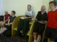 Racketball - Give us a smile Marker!