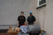 BBQ for the players