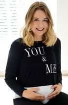 You and Me maternity top