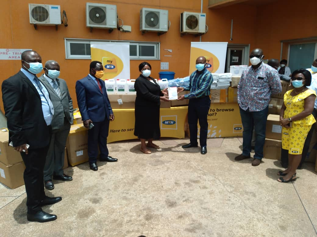 Fight  Against COVID-19: MTN Supports Hospitals With PPEs In Ashanti Region