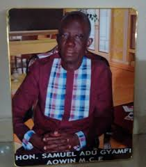 Concerned Youth Of Aowin Applauds President Nana Addo For Retaining Samuel Adu Gyamfi As The MCE