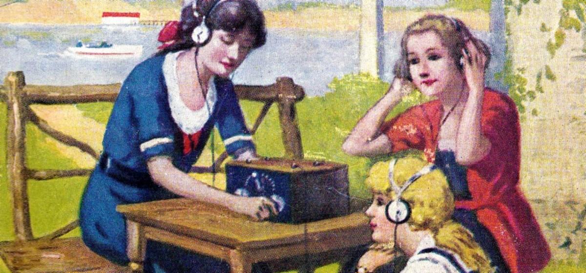 Radio Girls Artwork (Detail)
