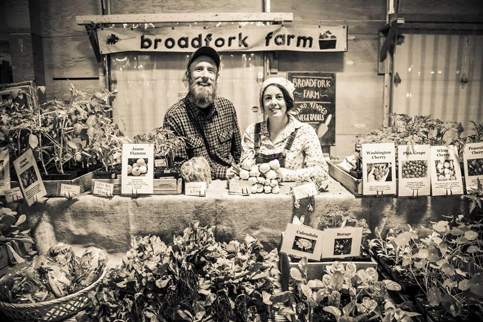 Great farmer's market stall