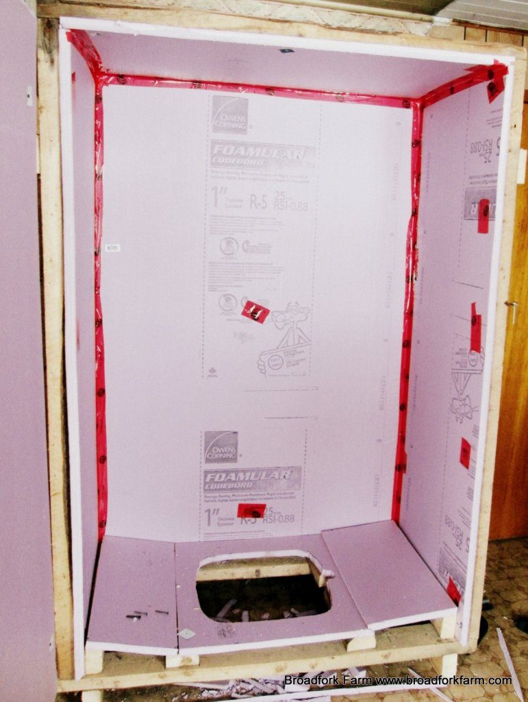 Pink Board insulation