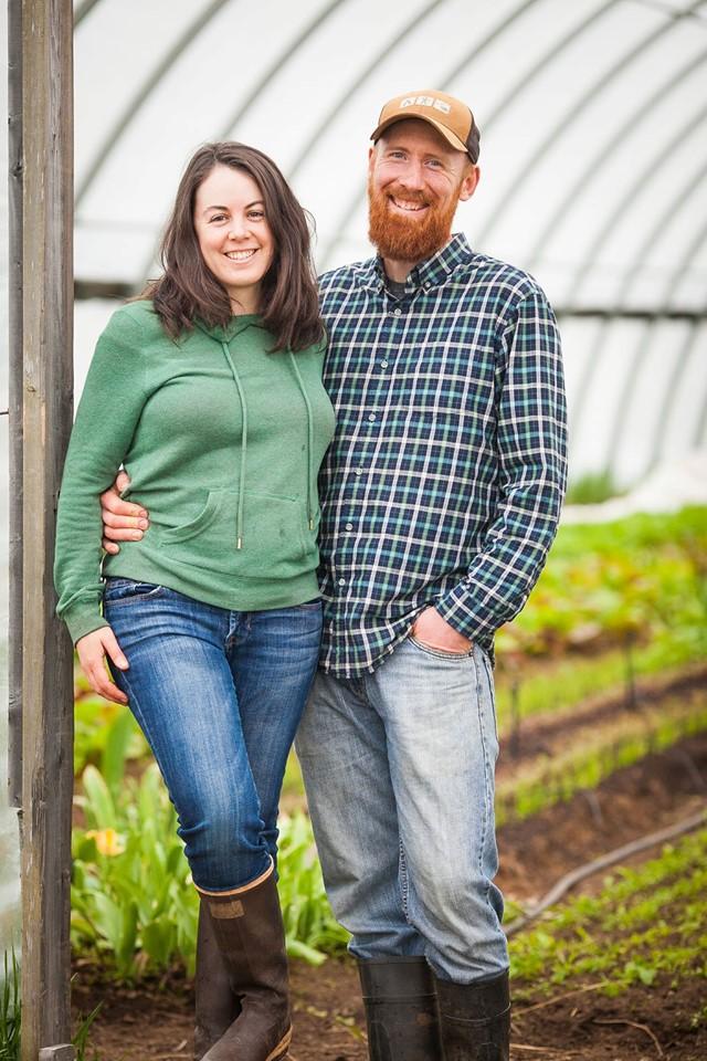 small-scale organic farmers