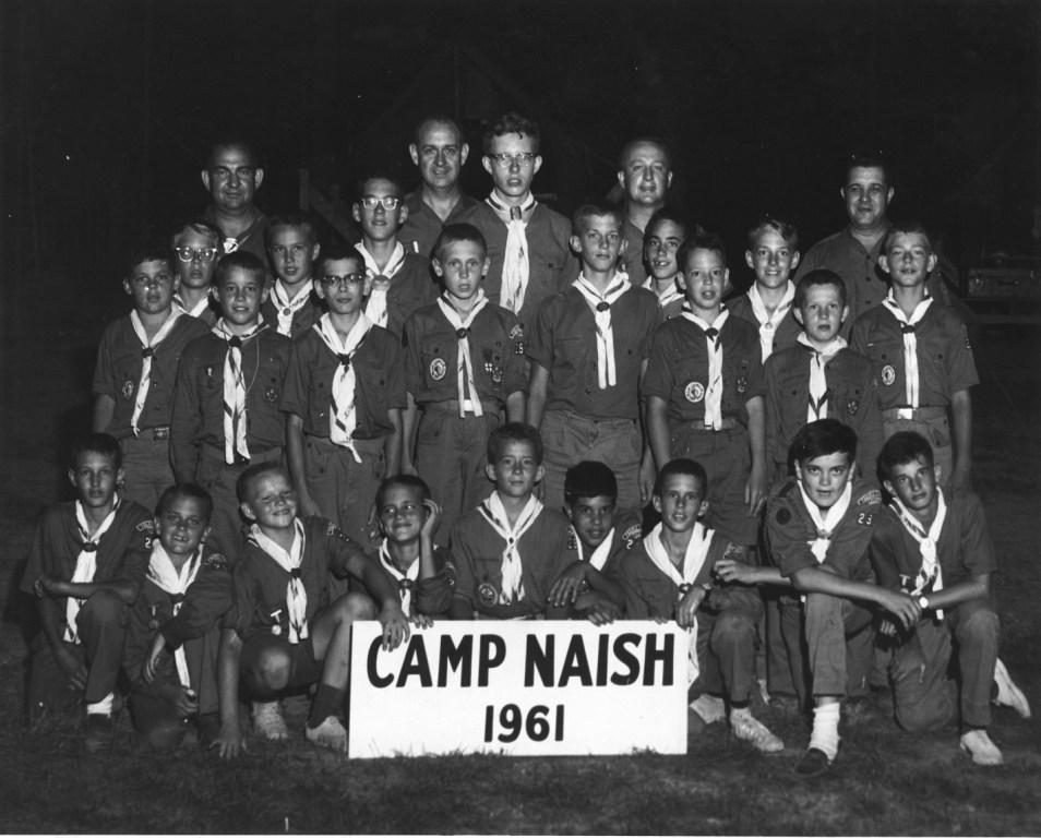 Troop 299 Goes to Camp