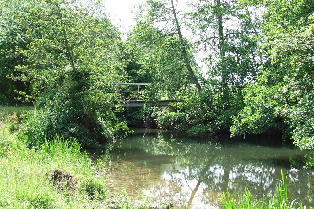 bridge over waveney at needham by-Keith-Evans