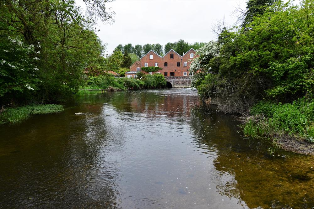 river yare at bawburgh-by-Michael-Garlick