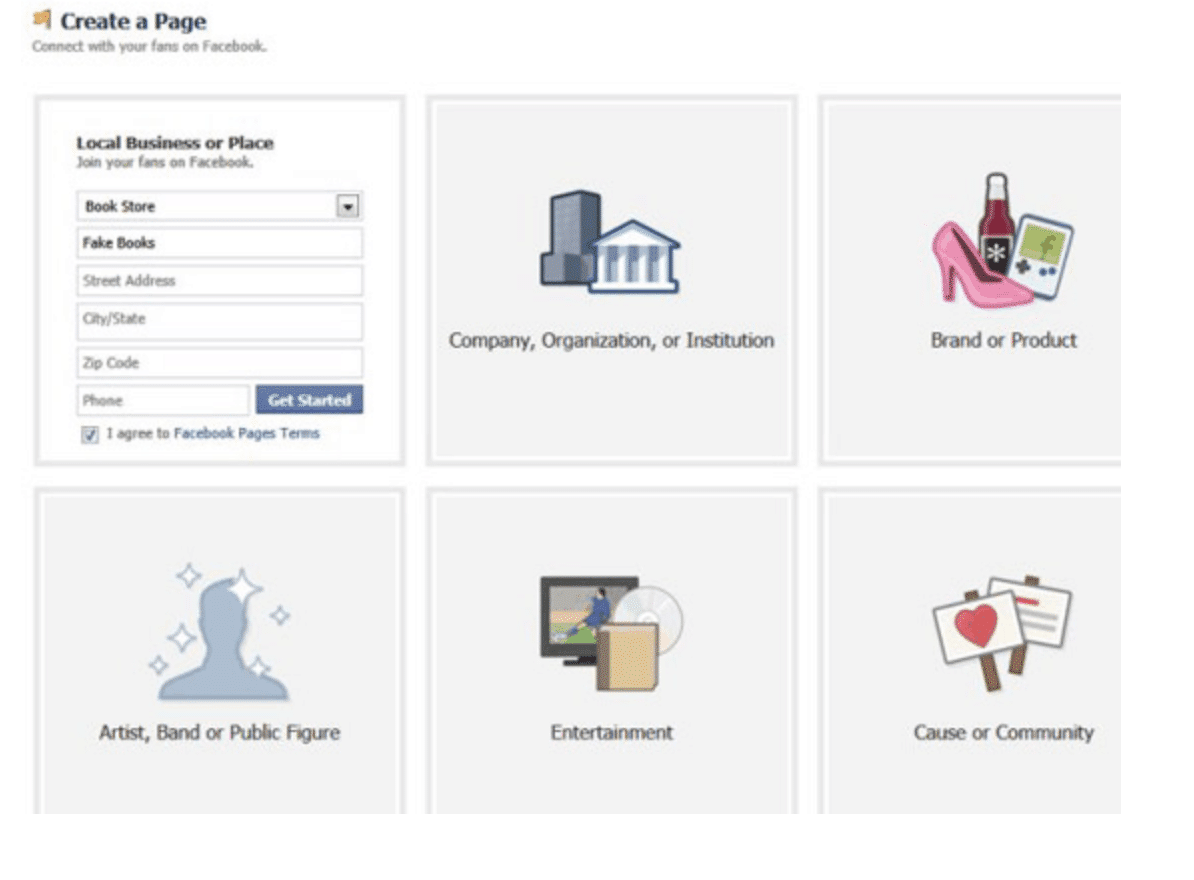 How to Create a Business Facebook Page Without a Personal