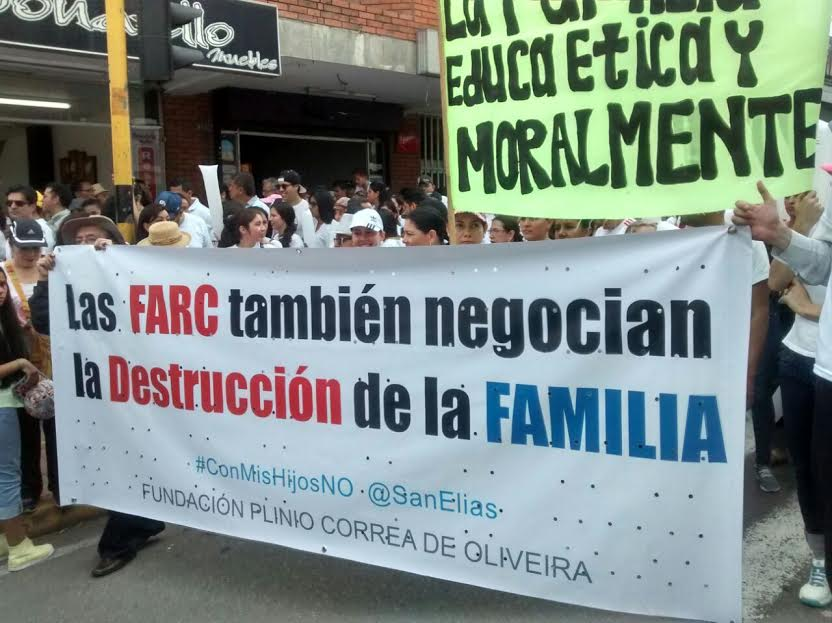 Homophobia against peace with FARC Guerrillas