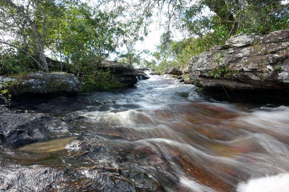 The Caño Cristales river