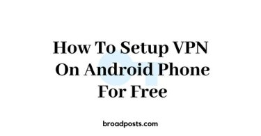 how to setup vpn on android phone