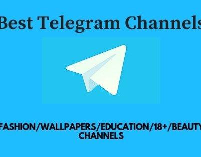 (Latest) Telegram Channels List For All Categories