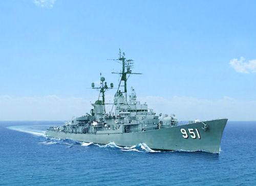 (Navy photo/USS TURNER JOY MUSEUM)