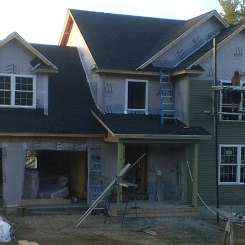 Love to see the siding go on.