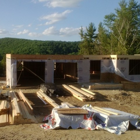 First floor on new build.