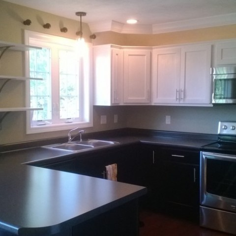 Kitchen complete.