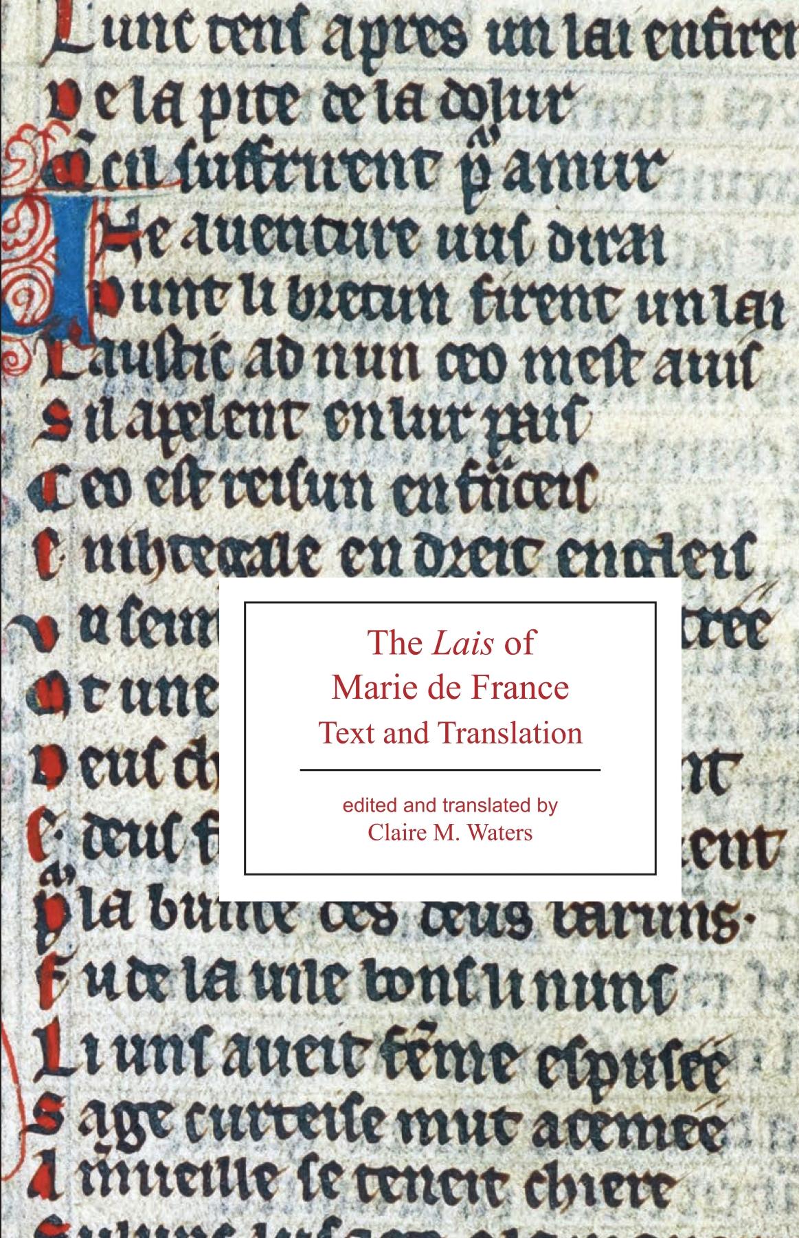 Les Lais De Marie De France : marie, france, Marie, France, Broadview, Press