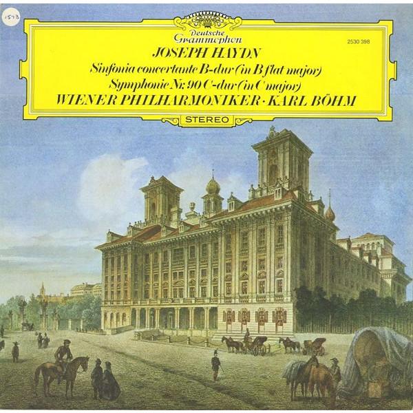 GB DGG 2530 398 カール・ベーム ハイドン・協奏交響曲&交響曲90番