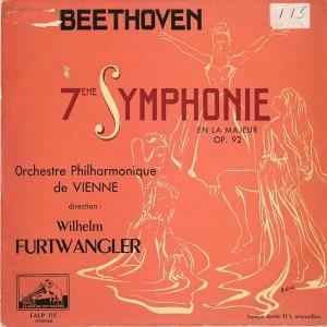 FR EMI FALP115 フルトヴェングラー ウィーン・フィル ベートーヴェン・交響曲7番