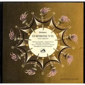 FR VSM FALP381-382 フルトヴェングラー バイロイト祝祭管 シュヴァルツコップ ホップ ヘンゲン エーデルマン ベートーヴェン・交響曲9番「合唱付き」