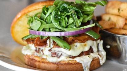 Chophouse Bleu Cheese Bacon Burger
