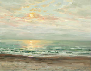 Christine Lashley Eastern Sunrise 16x20 Oil on Canvas