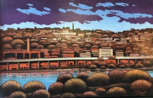 Richard McMurry Georgetown 19x30 Oil on Canvas